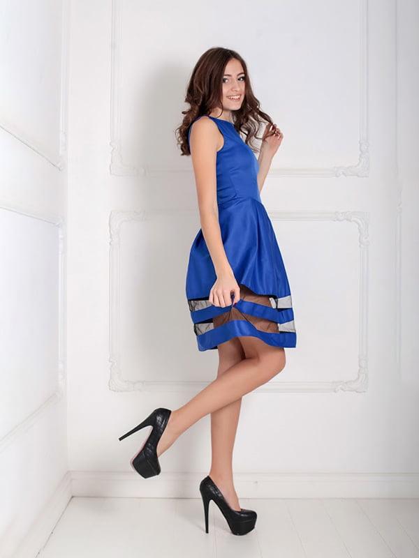 Платье синее   5035511