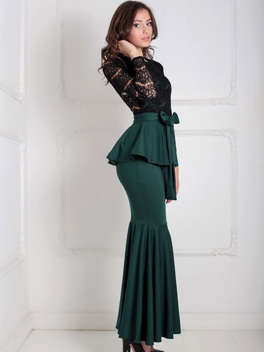 Платье двухцветное | 5035516