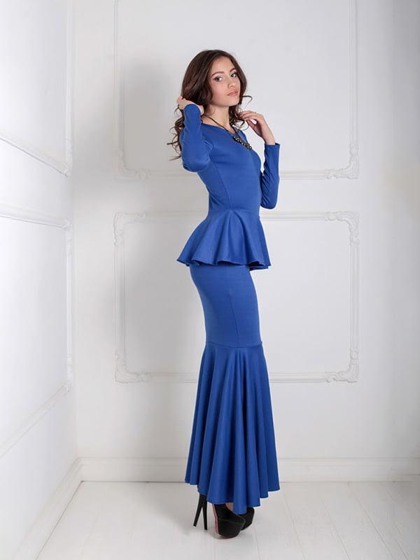 Платье синее | 5035536