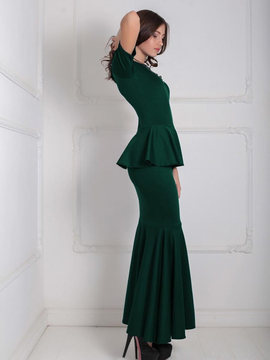 Платье зеленое | 5035540