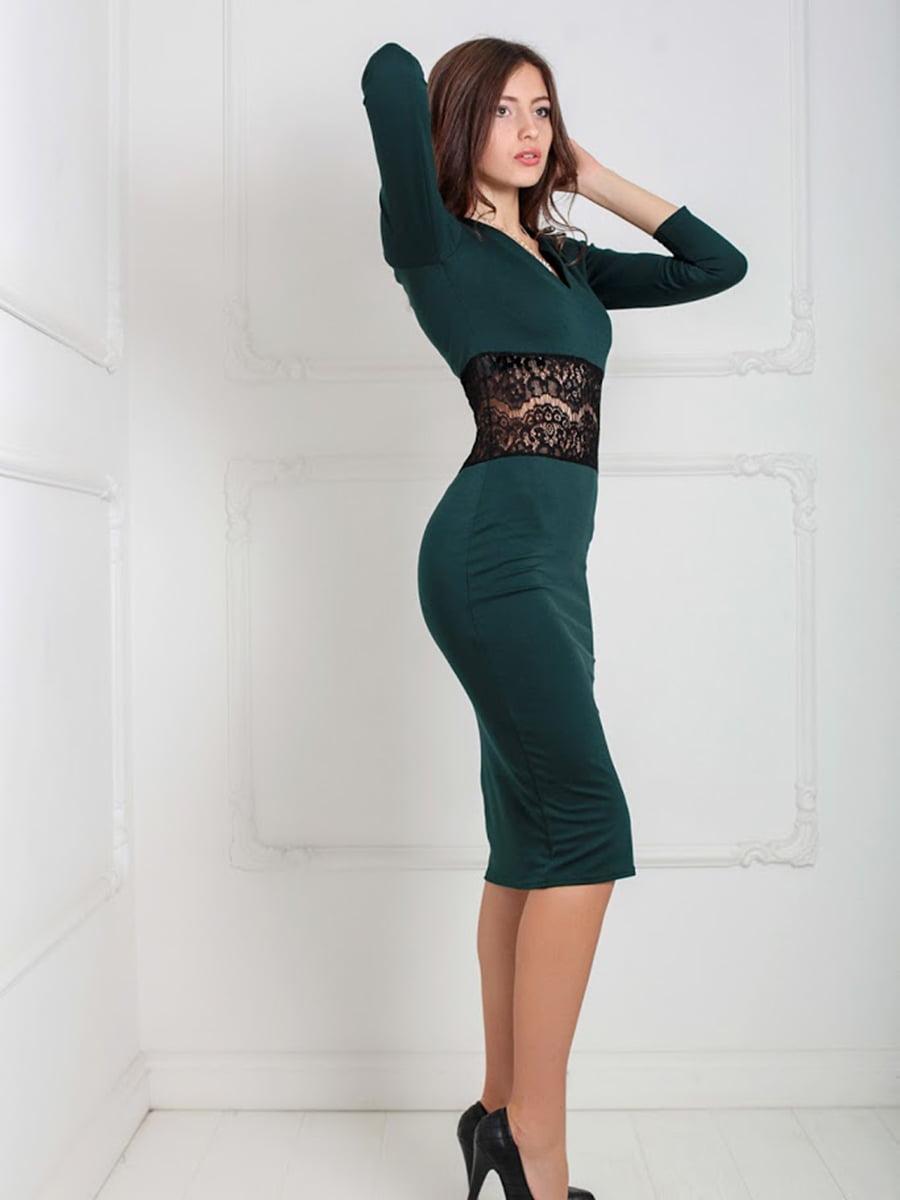 Платье зеленое | 5035551