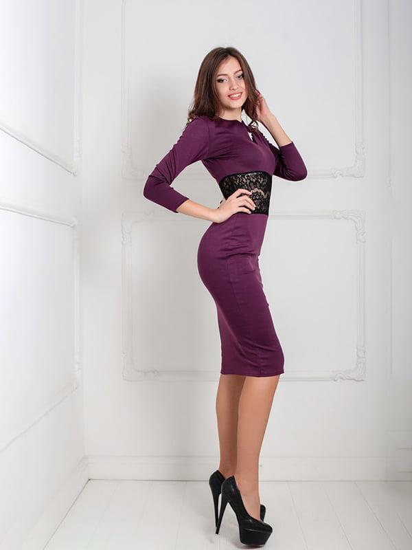 Платье бордовое   5035553