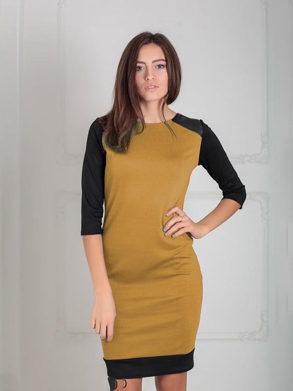 Платье горчичного цвета | 5035583