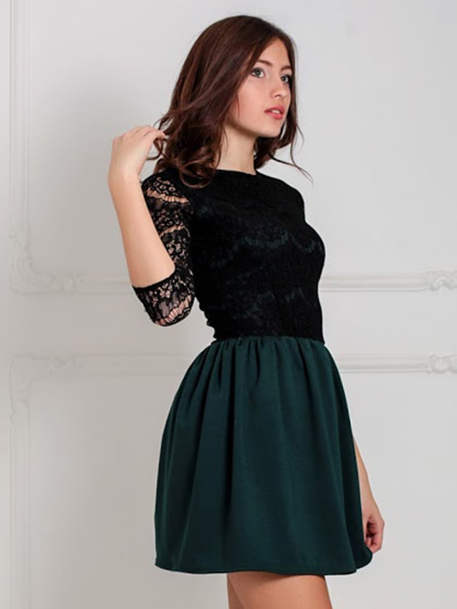 Платье зеленое | 5035585