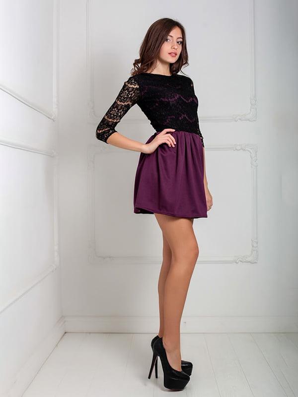 Платье бордовое | 5035587
