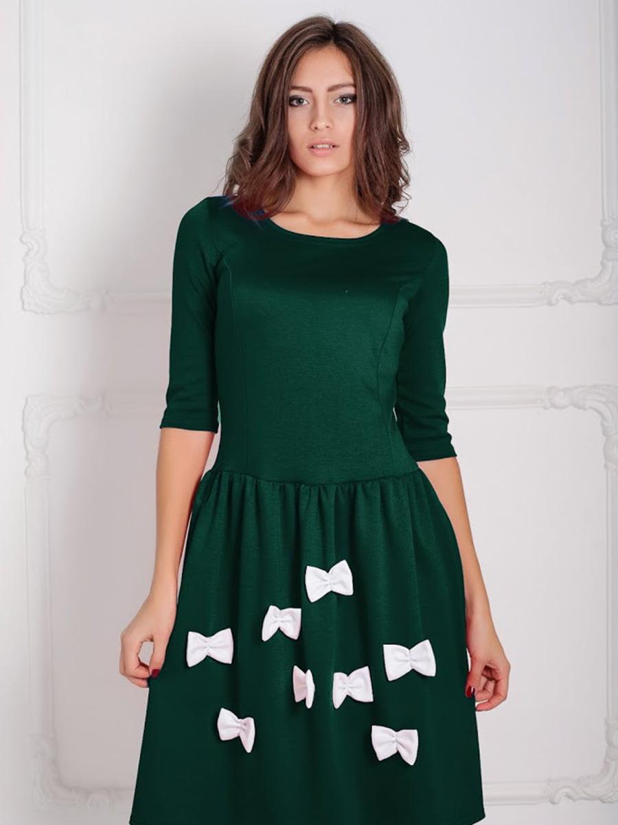 Платье зеленое | 5035649