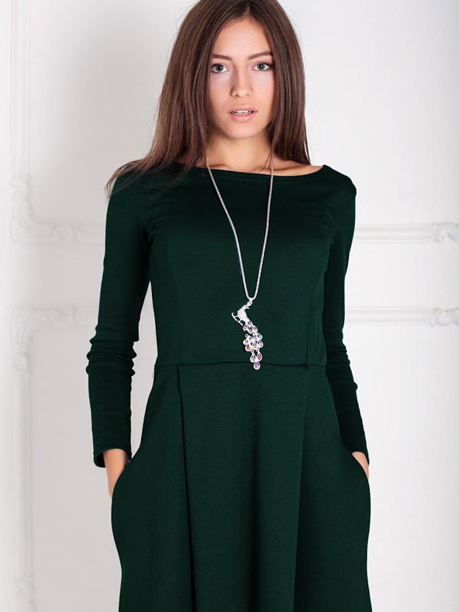 Платье зеленое | 5035664