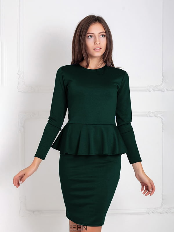 Платье зеленое | 5035673