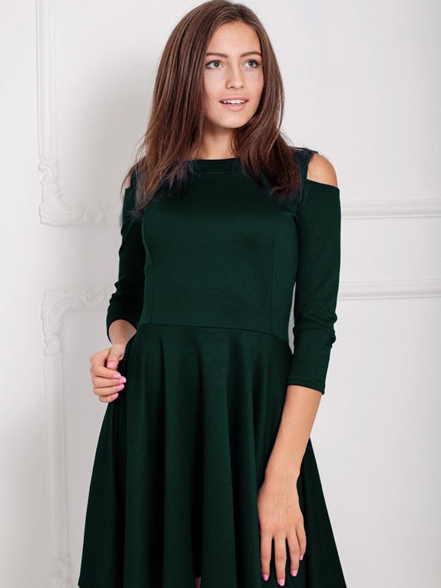 Платье зеленое | 5035682