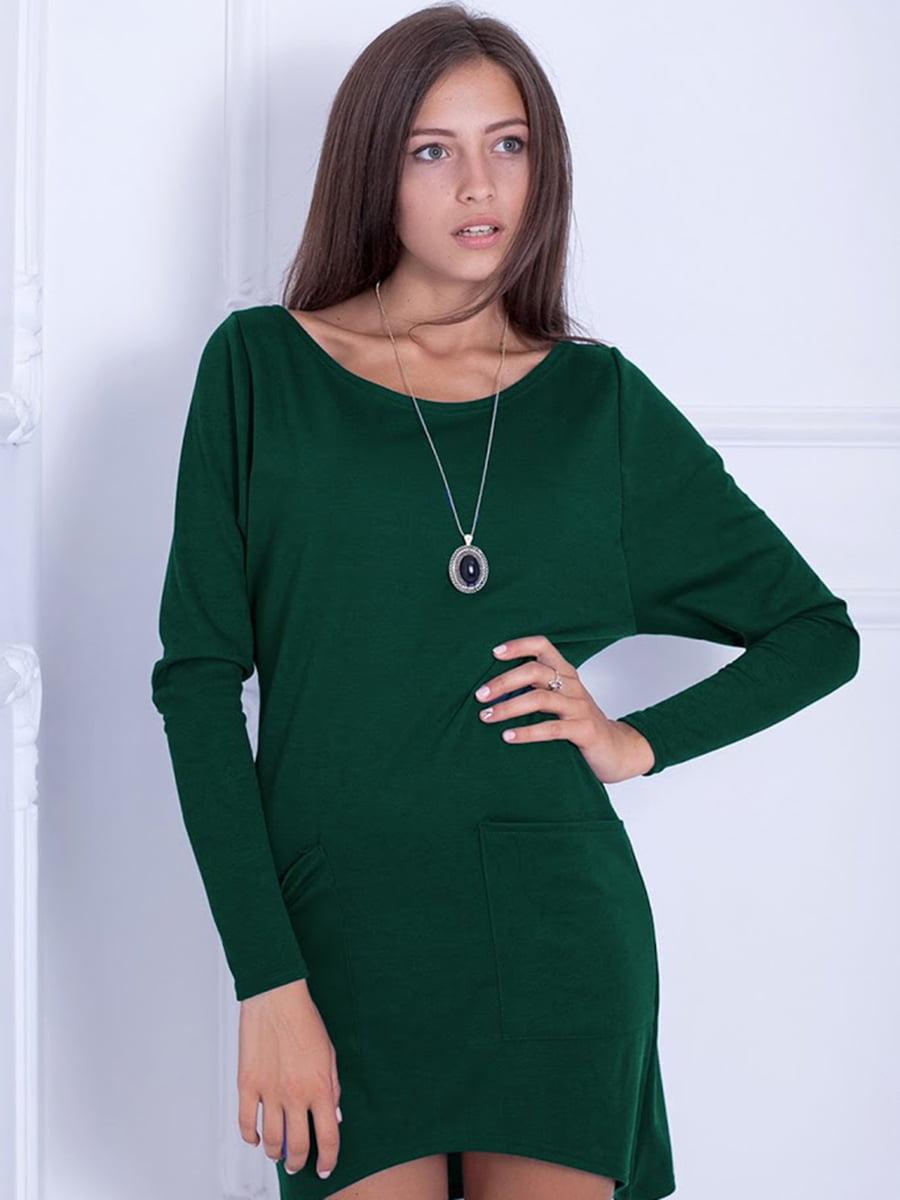 Платье зеленое | 5035715