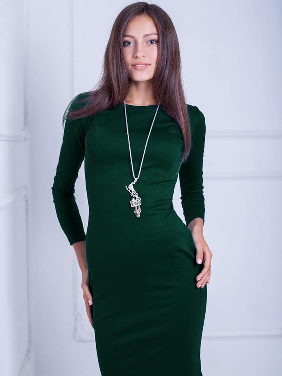 Платье зеленое | 5035757