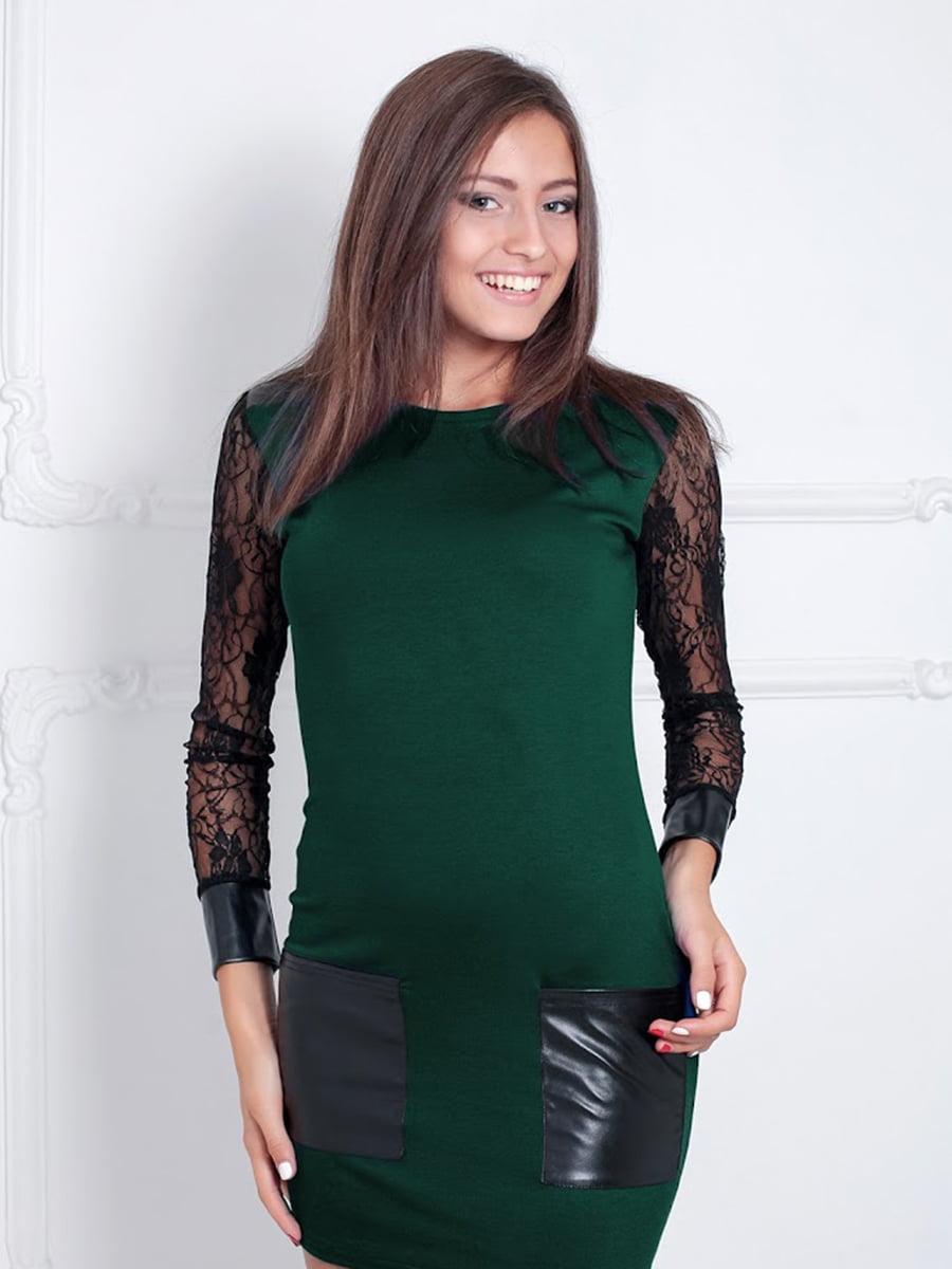 Платье зеленое | 5035766