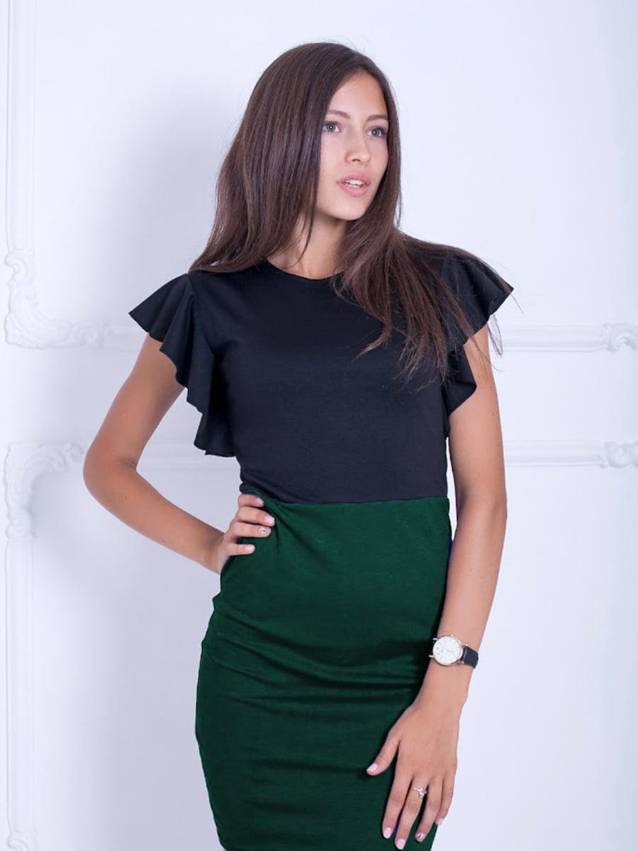 Платье двухцветное | 5035778
