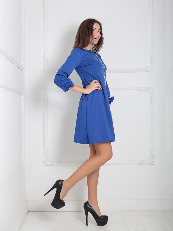 Платье синее   5035787