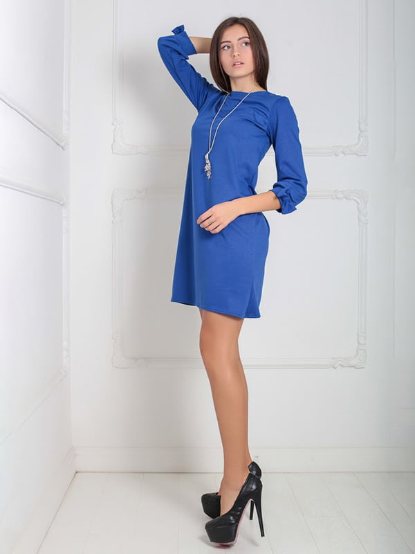 Платье синее   5035787   фото 2