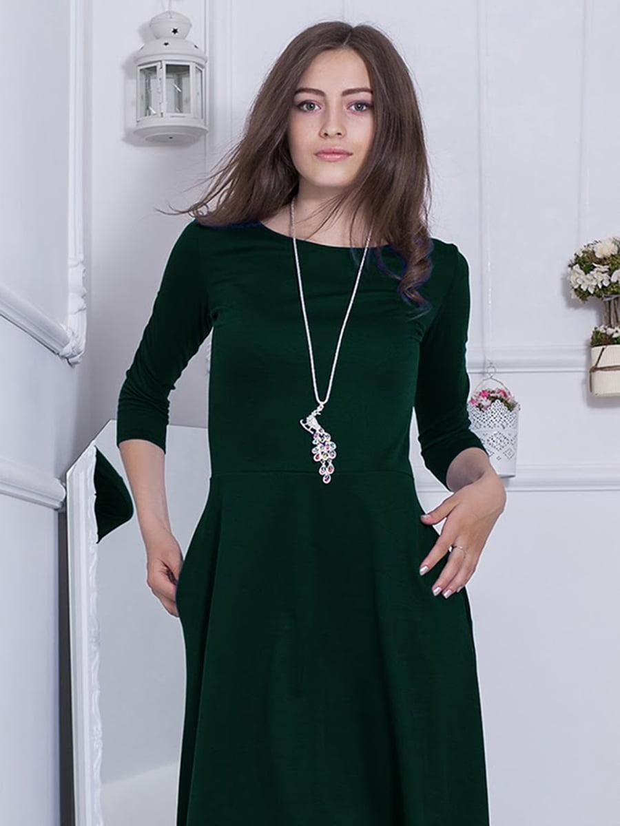 Платье зеленое   5035806