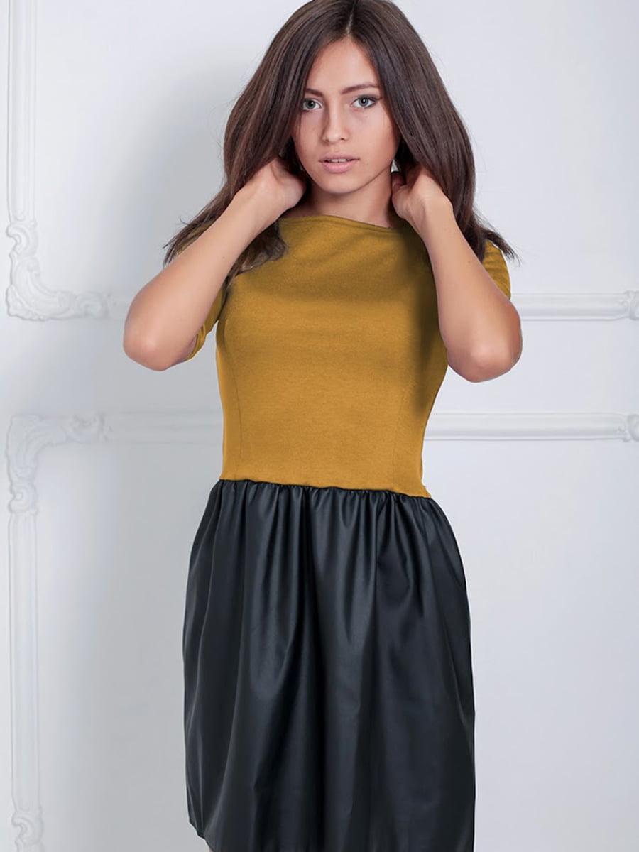 Платье двухцветное | 5035832