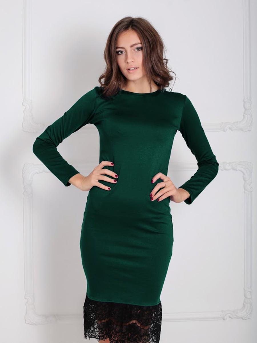 Платье зеленое   5035863