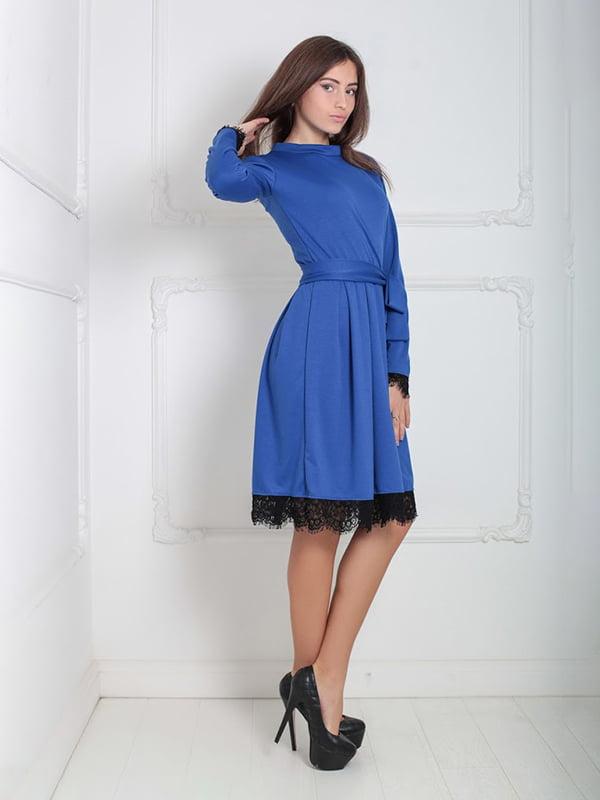 Платье синее   5035879