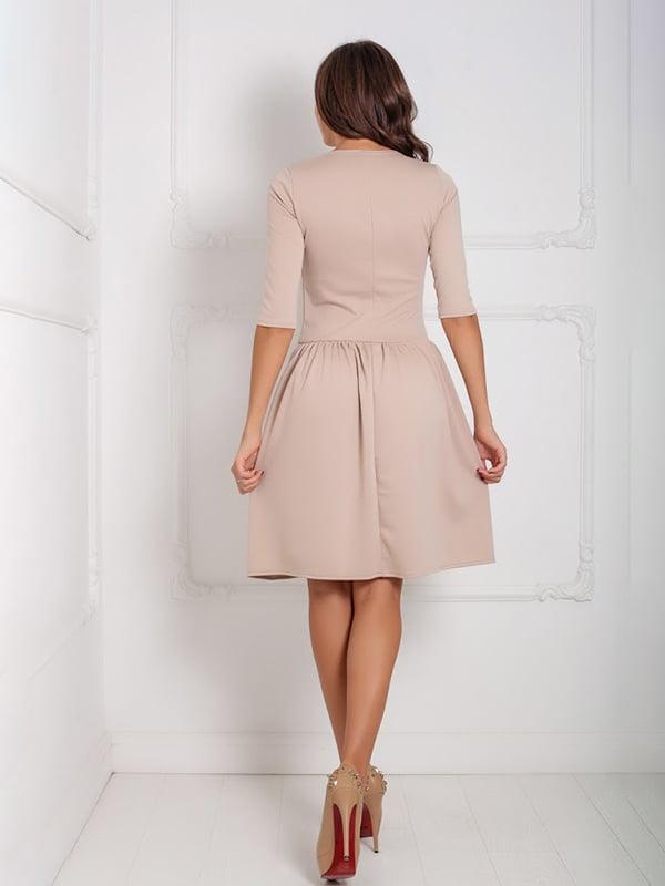 Платье бежевое   5035943
