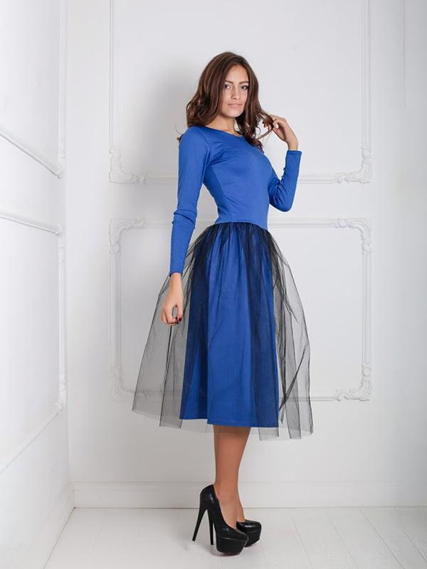 Платье синее | 5035981