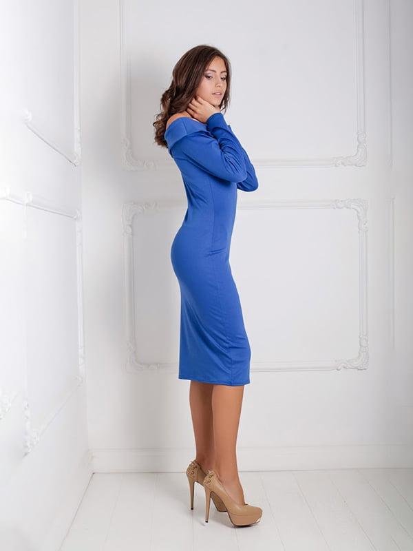 Платье синее | 5035988