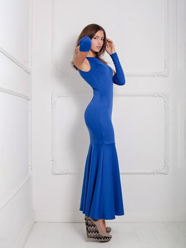 Платье синее   5036029