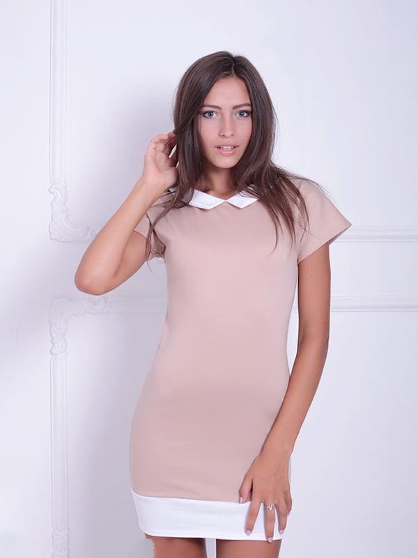 Платье бежевое | 5036064