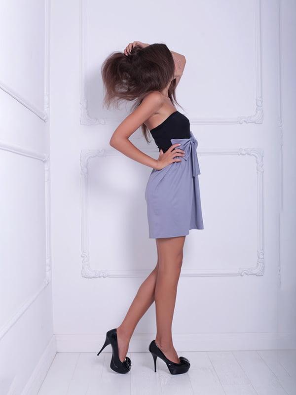 Платье двухцветное | 5036077