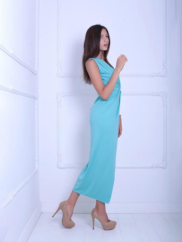 Платье мятного цвета   5036100
