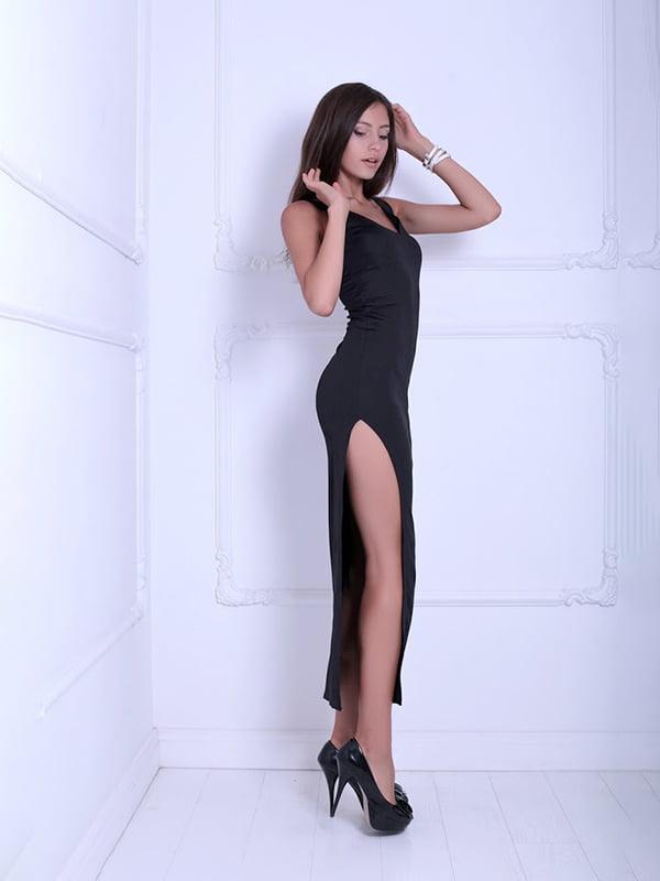 Платье черное | 5036120