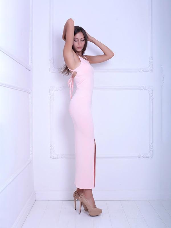 Платье цвета пудры   5036122