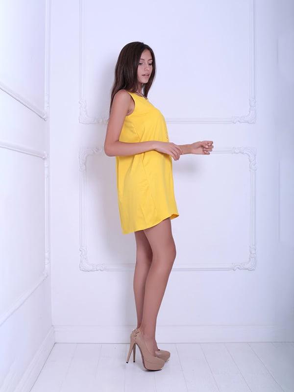 Платье желтое | 5036132