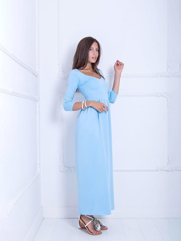 Платье голубое | 5036145