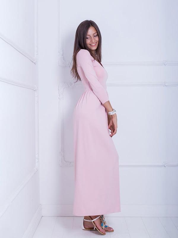 Платье цвета пудры   5036147
