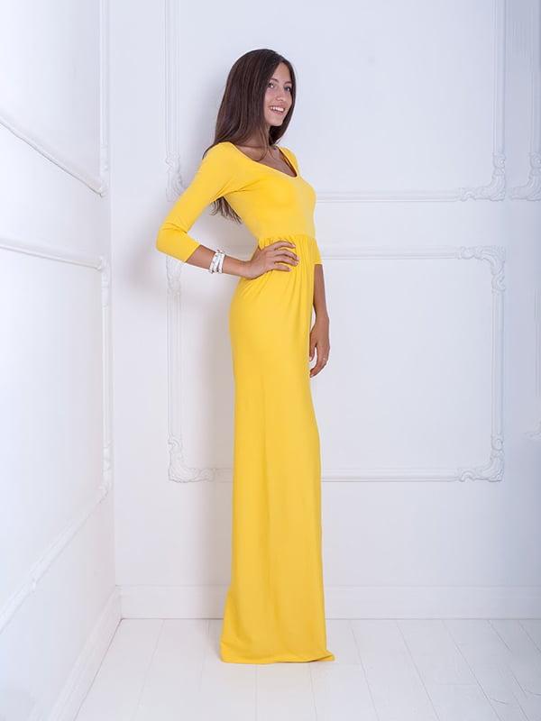 Платье желтое | 5036149