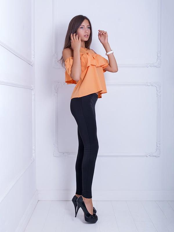 Блуза оранжевая   5036153