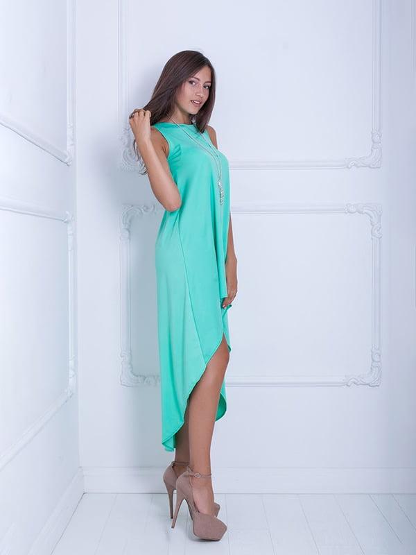 Платье мятного цвета | 5036171