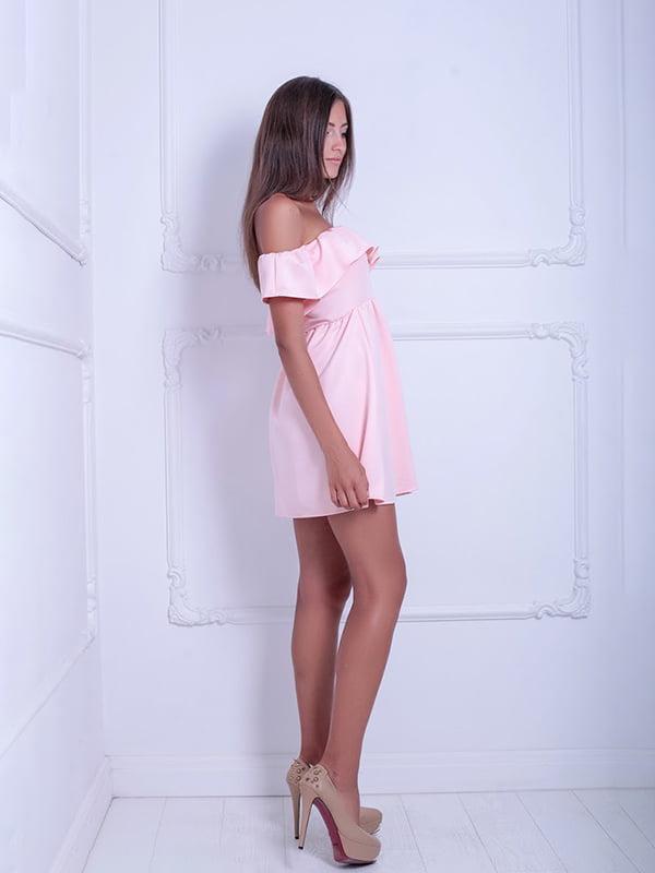 Платье розовое | 5036185