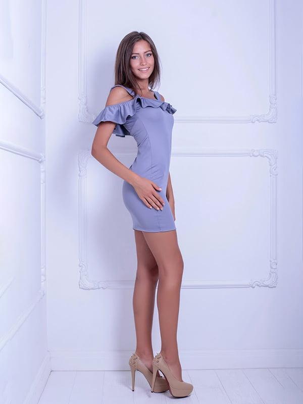 Платье серое   5036218