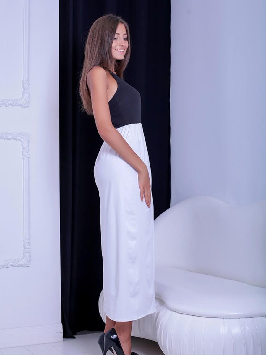 Платье двухцветное | 5036227