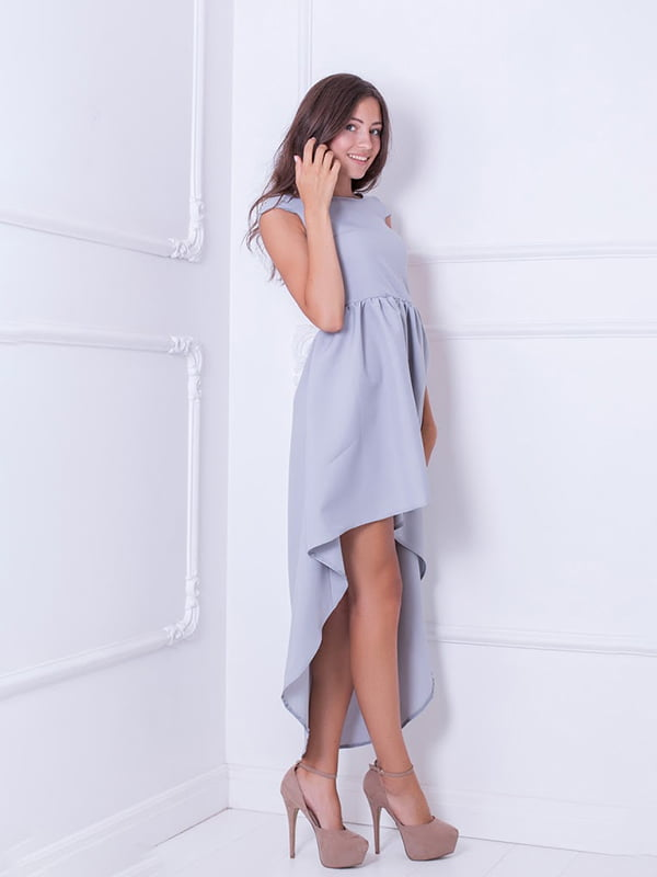 Платье серое | 5036259