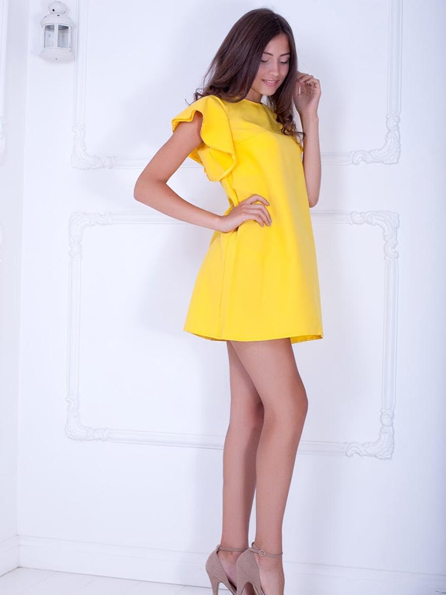 Платье желтое | 5036289