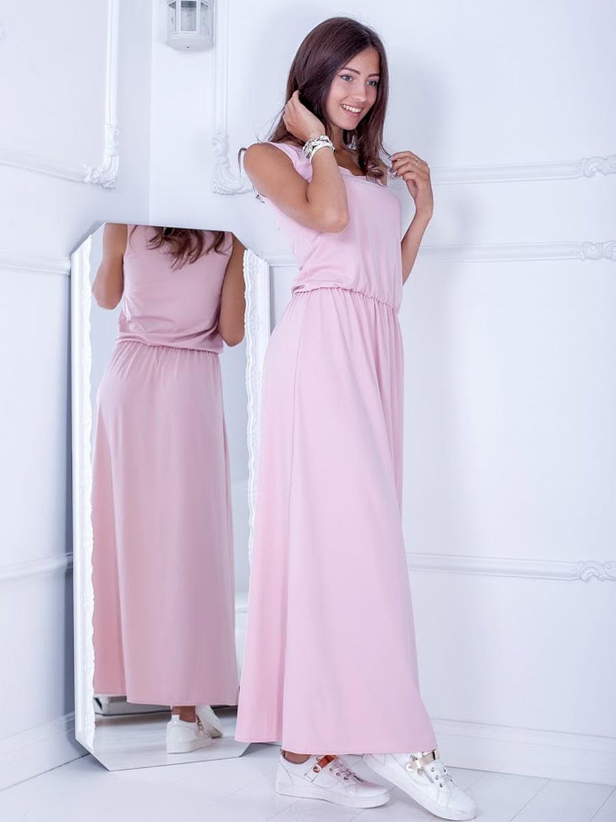 Платье цвета пудры   5036295
