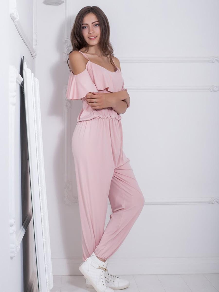 Комбинезон розовый | 5036321
