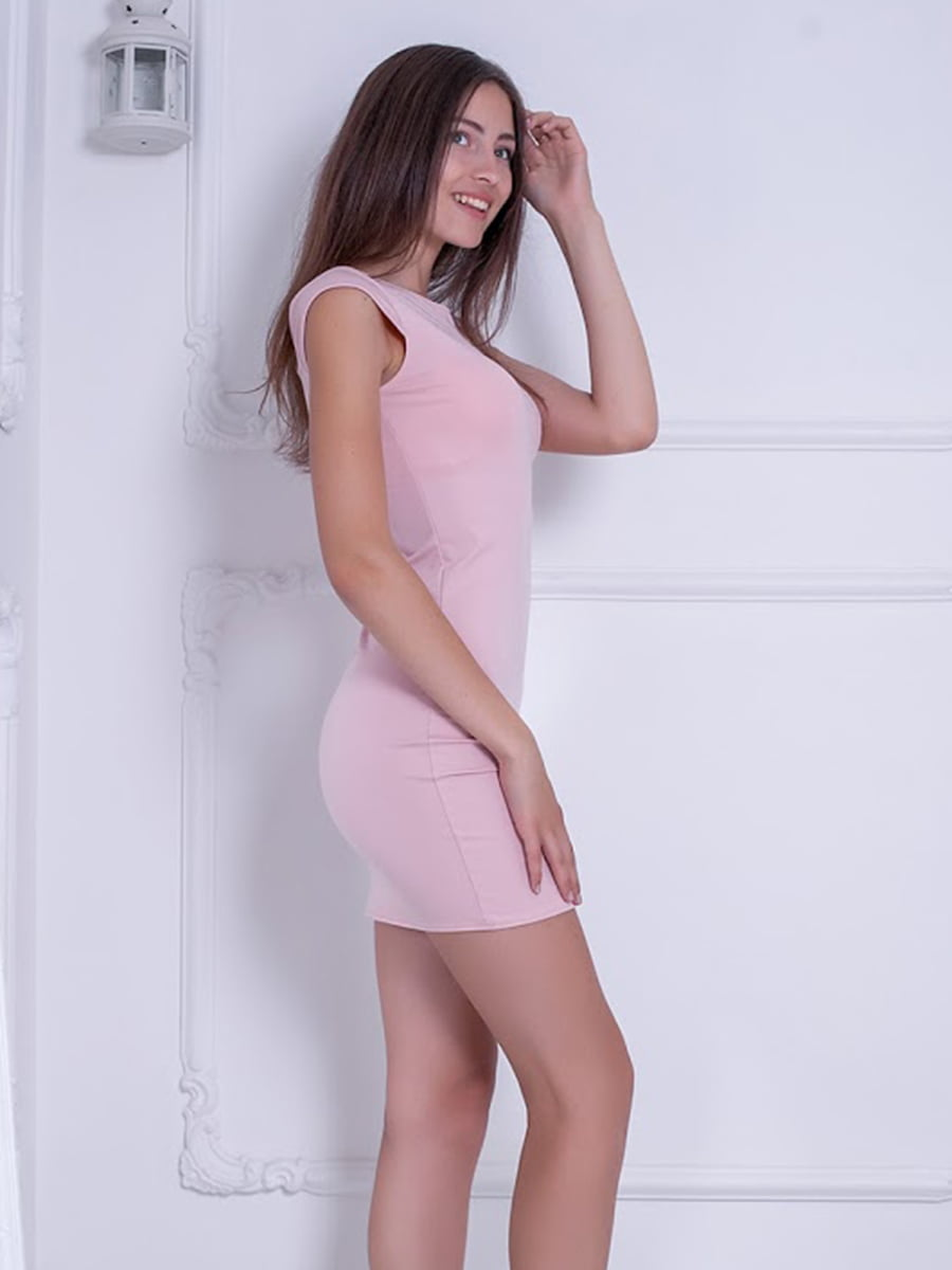 Платье розовое | 5036329