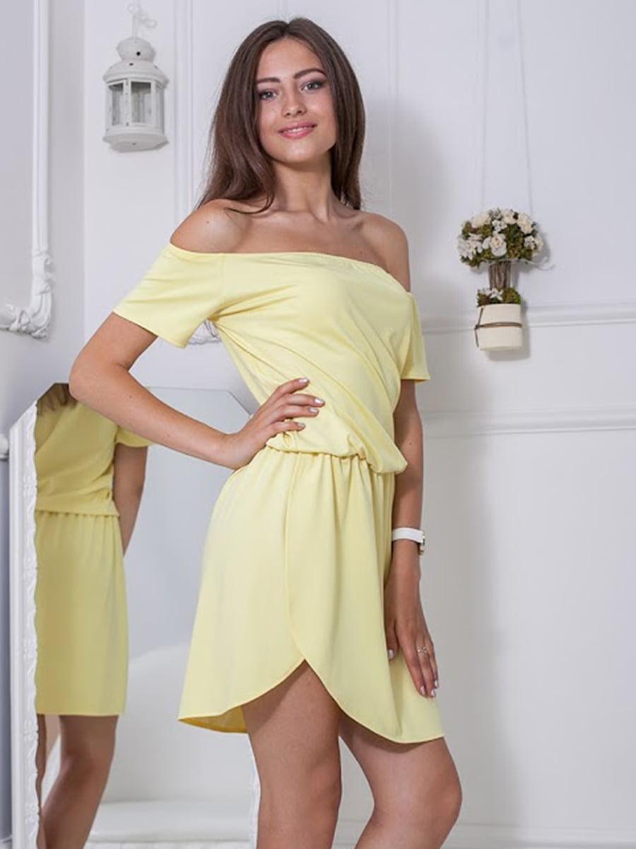 Платье желтое | 5036361