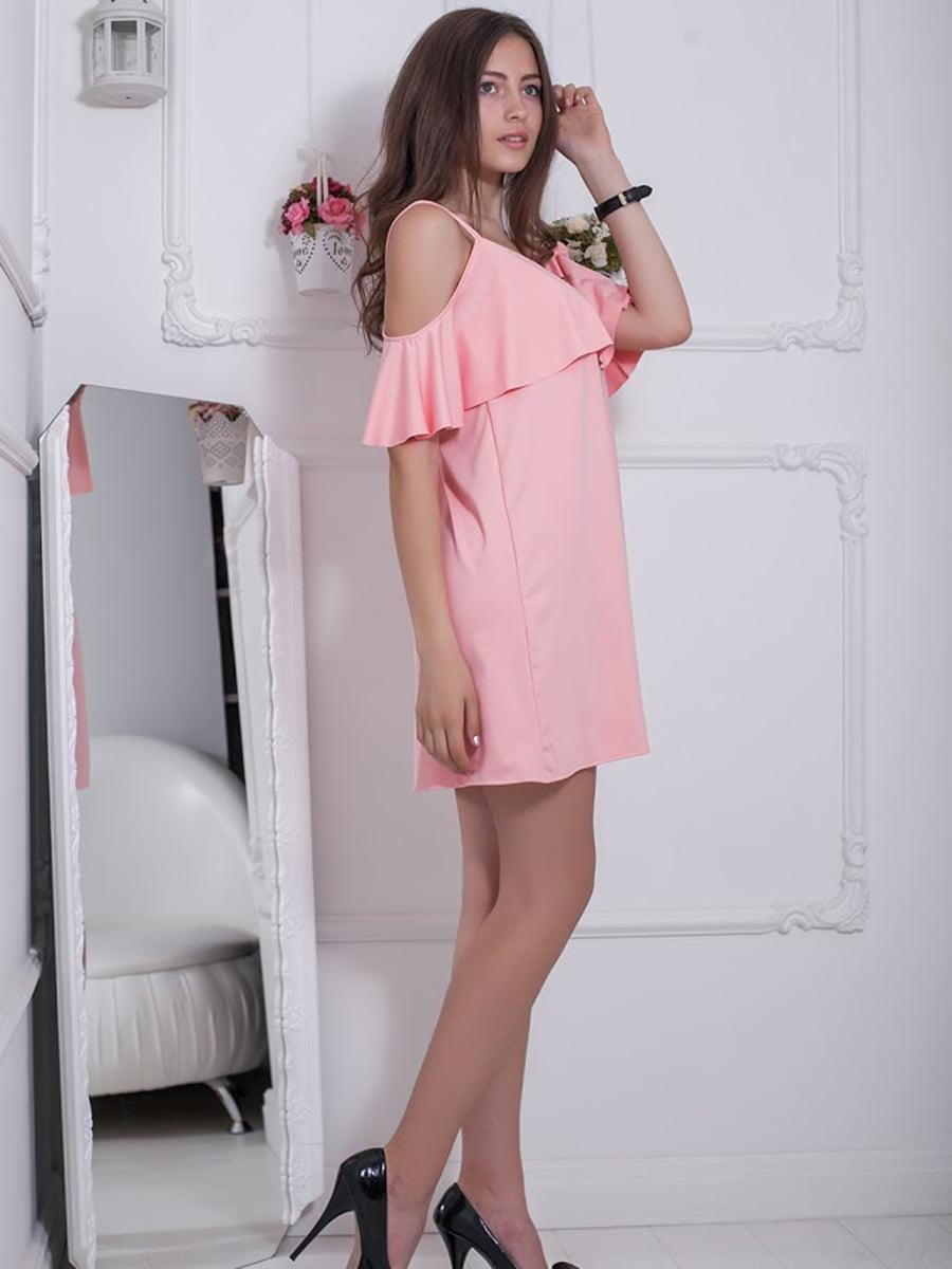 Платье розовое   5036374