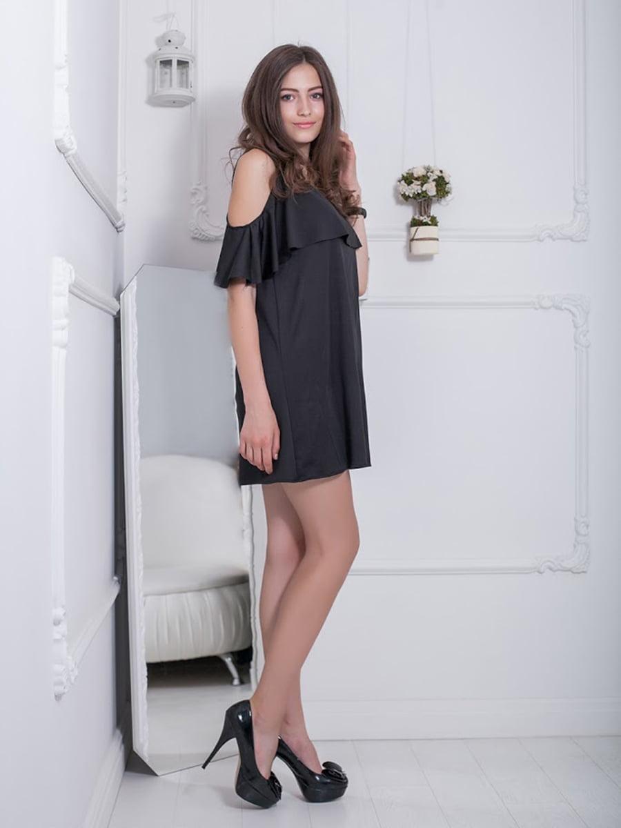Платье черное | 5036380