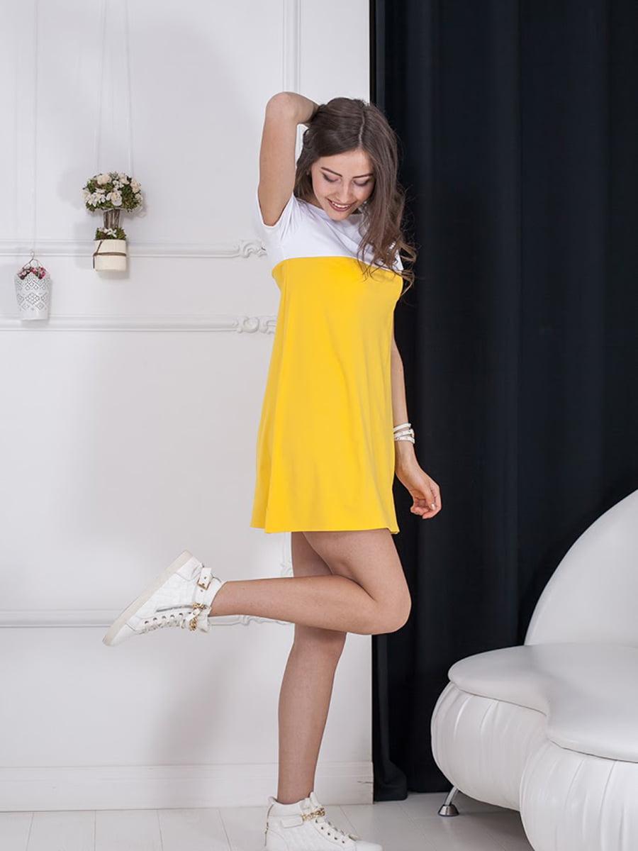 Платье двухцветное | 5036381